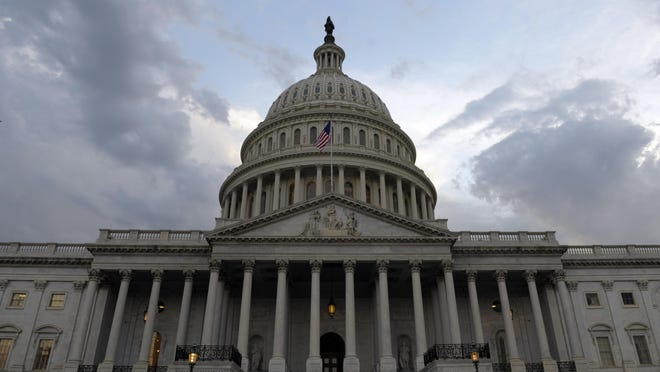 A view of the U. S. Capitol in Washington.