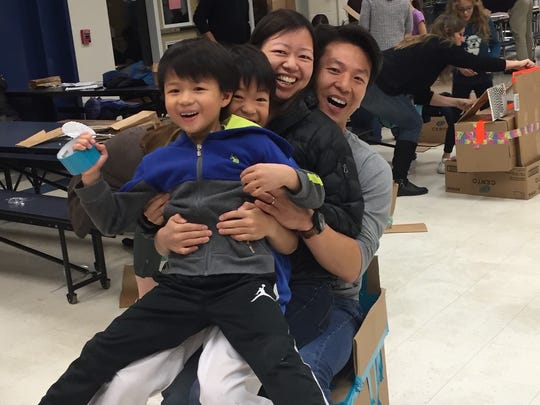 Bayberry Elementary School STEAM family night. Pictures