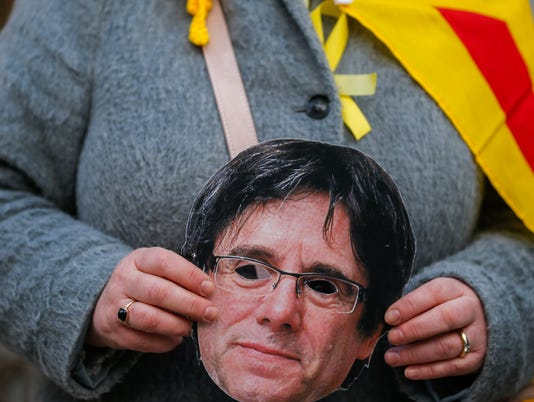 EPA GERMANY PUIGDEMONT DETAINED CLJ CRIME DEU