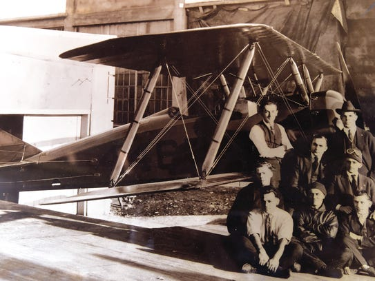 "A vintage photo of the ""Tommy"" airplane. ""Tommy,"" which"