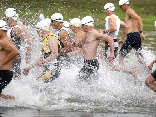 Triathlon is a growing sport in north central Wisconsin.