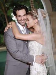 Ludwika y Emiliano Salinas se casaron el 20 de abril