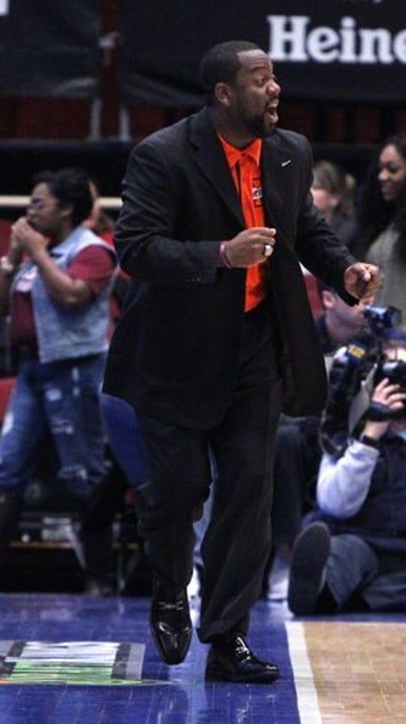 Mamaroneck coach Tyrone Carver will coach team Hudson