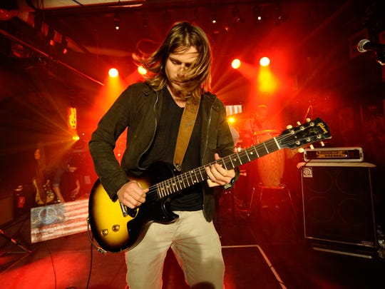 Lukas Nelson performs in New York in 2013. He plays World Cafe Live at the Queen Thursday.