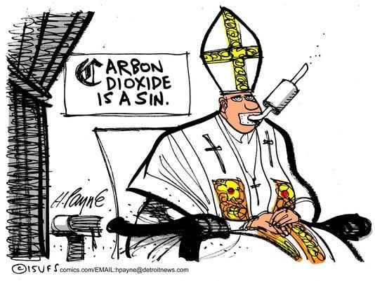 Pope Toon 062515