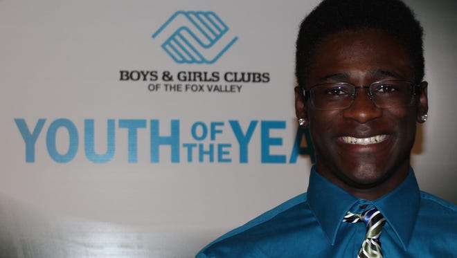 Messiah Morning was named the youth of the year by the Boys & Girls Club of the Fox Valley.