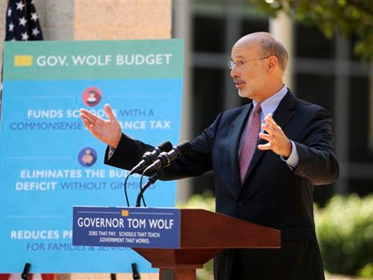 The budget stalemate continues between Gov. Tom Wolf and state Republicans.
