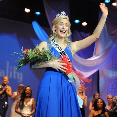 Erin Morgan of Laurel was crowned the new Miss Hospitality