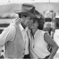 "(L-R) James Garner and Sally Field in a still from ""Murphy's Romance"""