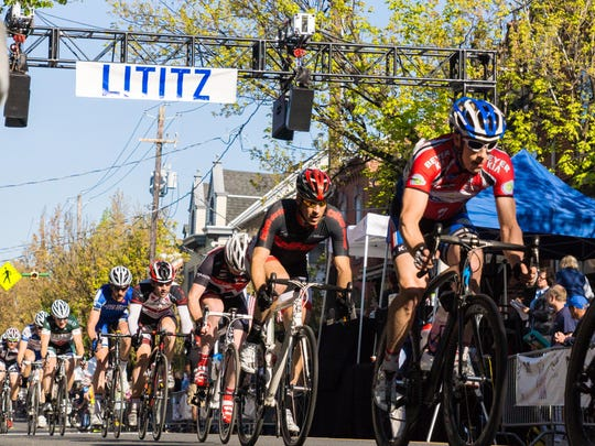 The Rock Lititz Tour bike race scheduled for April 26 this year.