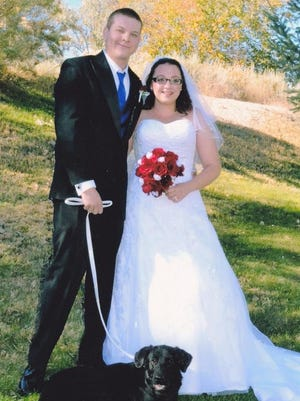 Jeremy and Emma Hensley exchanged wedding vows on Nov. 14.