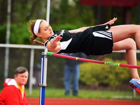 West Milford high jumper Kalleen Rose Ozanik qualified