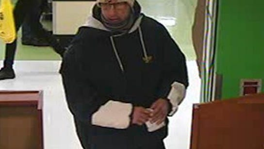 A man robbed an Associated Bank inside of a Neenah Festival Foods Friday evening.