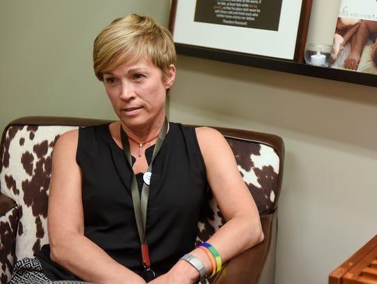Advanced practice nurse Joni Steffens talks about they