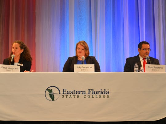 Wednesday night District 5 school board forum at the