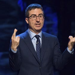 John Oliver makes case for vaccines using infant son's health struggles