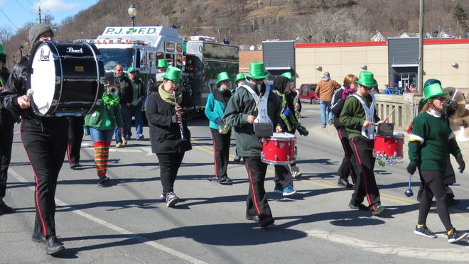 The Broome Street Band provided music for the St. Patrick's Parade last year and will be among the groups returning for this year's parade.