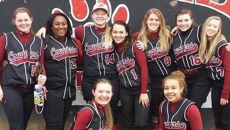 The Asheville High softball team.
