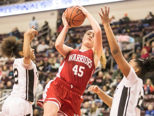 Anna Mahan (45) and Susquehannock will take on New
