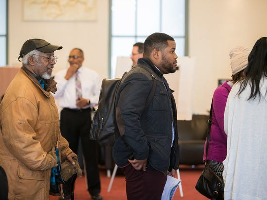 DART holds a hearing on the Rodney Square bus issue as citizens gather at the Wilmington Public Library on Tuesday for two hearings on the transportation changes.