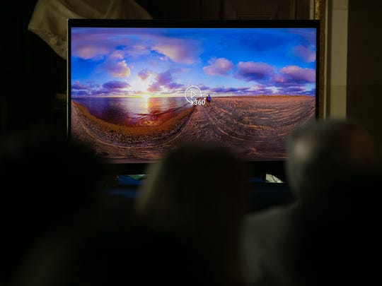 The Delaware Tourism Office unveiled its new virtual reality tour of Delaware Monday.