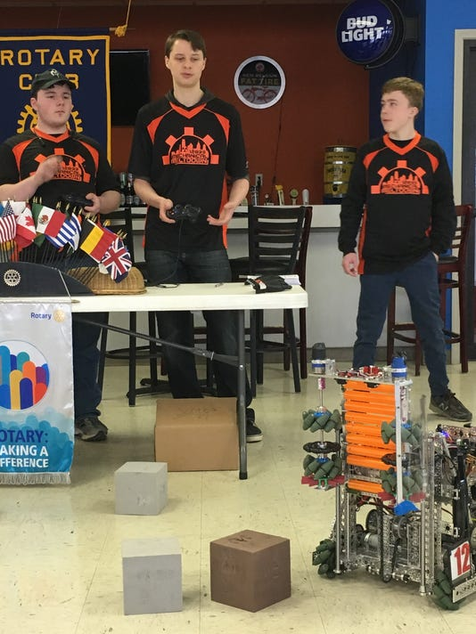 636592035455389560-mechanical-meltdown-robotics-team-at-rotary-04-12-18.JPG