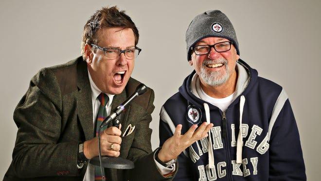 Marty Tirrell, left, and Ken Miller