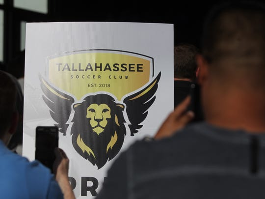 The newly created semi-pro Tallahassee Soccer Club announced its team logo reveal on Wednesday at Happy Motoring. Tallahassee S.C. will go by the Battle Lions in honor of Dale Mabry Army Airfield and how it shaped Tallahassee.