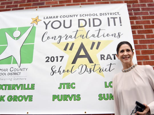Sumrall High School's Sheila Kribbs has been principal