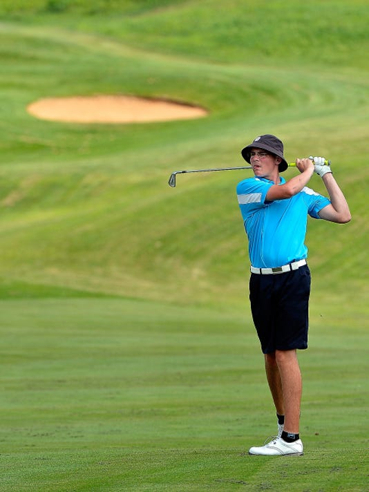 Eastern York's Andrew Davis captured the York County Junior Golf Association Match Play Championship over the summer.