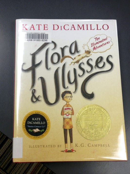 """This months book review is """"Flora and Ulysses: The Illuminated Adventures."""""""