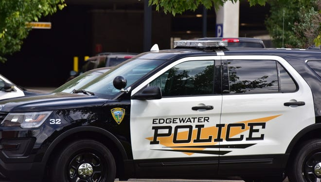 An Edgewater police vehicle.
