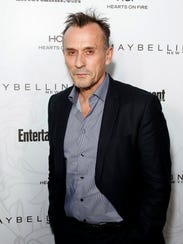 Robert Knepper arrives at the Entertainment Weekly