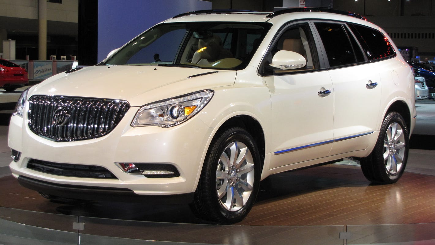 2016 buick enclave is elegantly practical. Black Bedroom Furniture Sets. Home Design Ideas