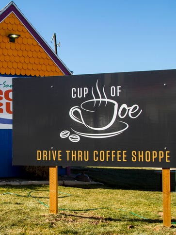 Cup of Joe, located in the Soda Run at College Ave.