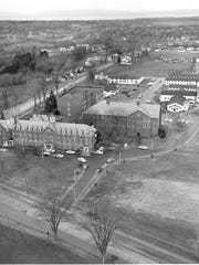 In 1949, military surplus buildings made up most of the buildings on the St. Michael's College campus.