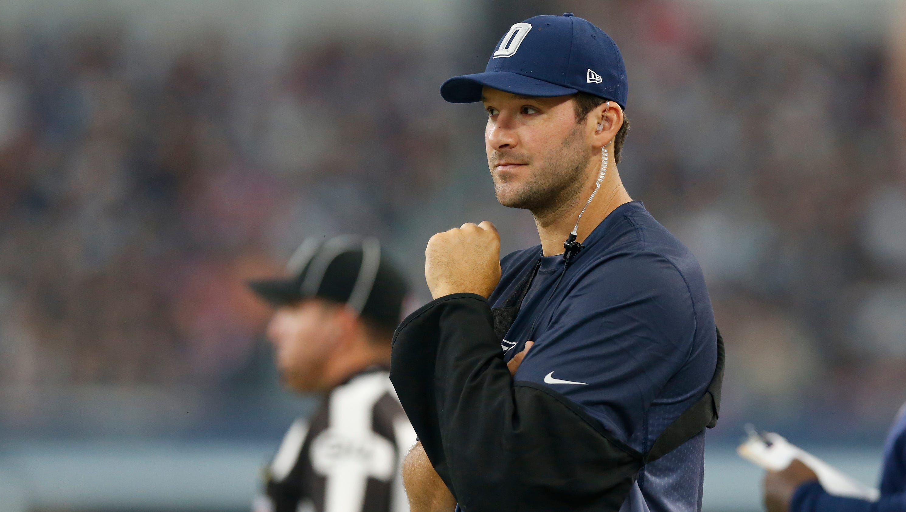 fair or not  tony romo seen as cowboys u0026 39  last hope for season