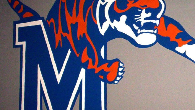 University of Memphis Tigers logo.