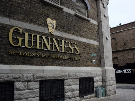 2b13769d3 In Dublin, Ireland's St. James's Gate Brewery, Guinness