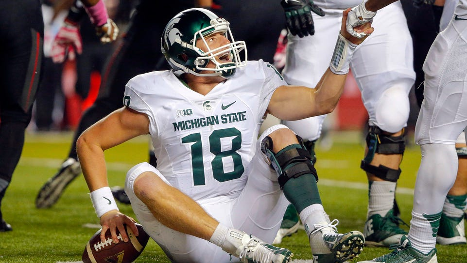 His draft plunge behnd him, Connor Cook has to dust