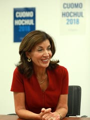 Lt. Gov. Kathy Hochul talks about how important women's