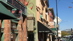 Historic Whiskey Row is one of the most popular tourist
