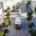 View of Louisiana Boardwalk Outlets in Bossier City