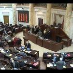 Inside the Arkansas State Capitol