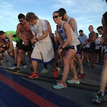 A 5K run takes place Saturday.