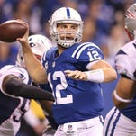 Colts quarterback plays with precision, strength and intelligence. In other words, PSI.