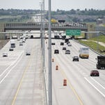 Highway 36 gets ready to open the toll lanes.