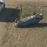 Fatal rollover crash in Weld County