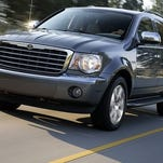 The 2009 Chrysler Aspen is one of the SUVs and pickups under recall.