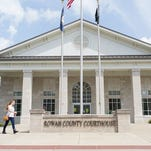 The Rowan County Courthouse in Morehead, Ky.,  is where County Clerk Kim Davis refused to issue marriage licenses.